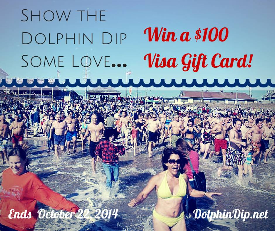 Win a $100 Visa Gift Card from the Dolphin Dip!