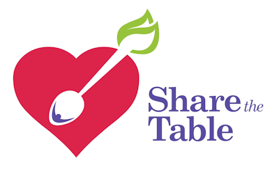 Share the Table Logo