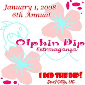 2008 Dolphin Dip Logo