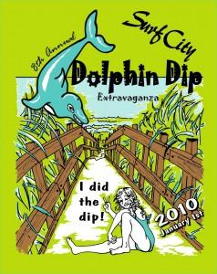 2010 Dolphin Dip Logo