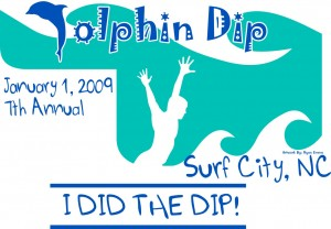 2009 Dolphin Dip Logo