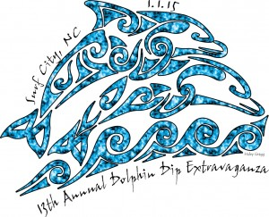 2015 Dolphin Dip Logo